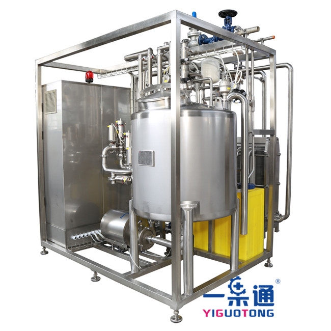 Juice Tubular Pasteurizer Equipment Stainless Steel Color With Touch Screen Display