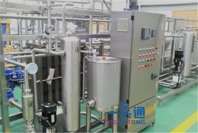 Juice Beverage Wine SS UHT Sterilization Machine SUS304 Milk Sterilizer Machine