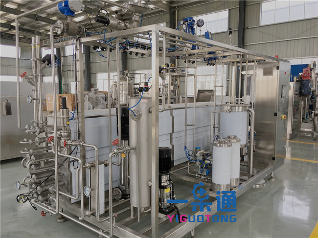 Automatic UHT Sterilization Machine For Liquid Food , Uht Milk Equipment