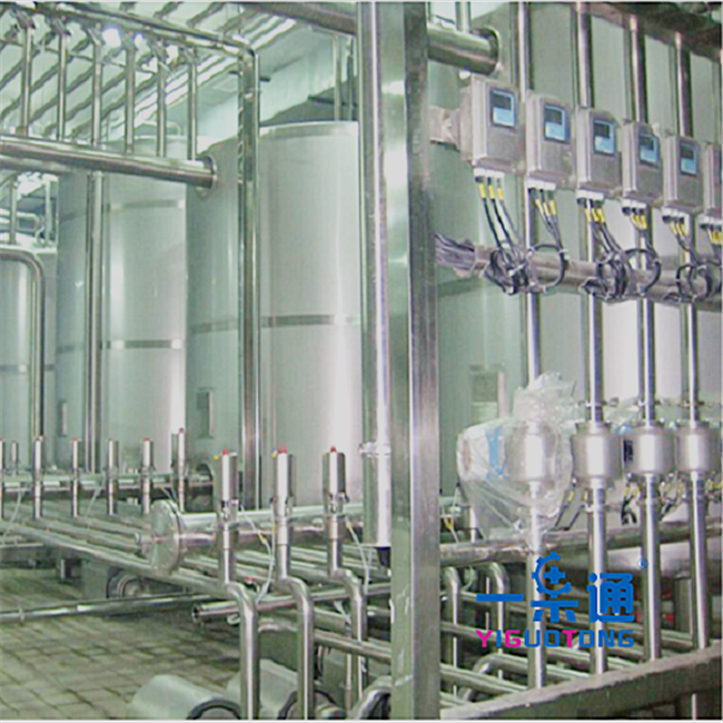 Stainless Steel Cleaning In Place In Food Industry CE Certification , Water Cleaning Equipment