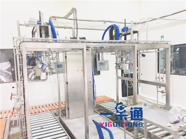 YGT Passion Fruit Juice Aseptic Bag Filler / Aseptic Liquid Filling Machine