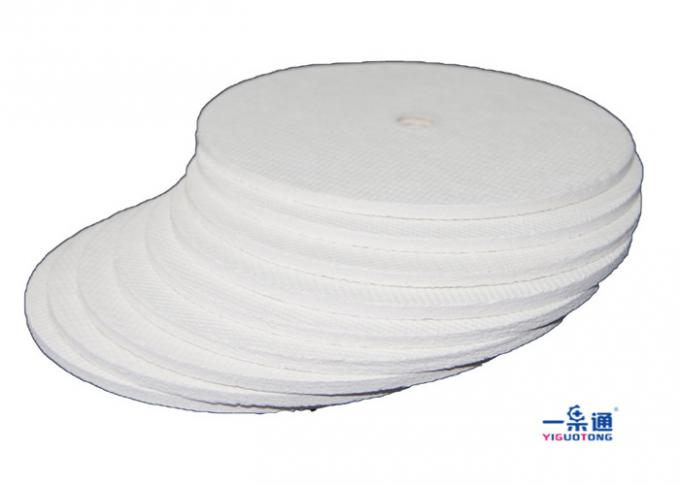 Cotton Pulp Industrial Filter Paper , Oil Filter Paper Pad In Rectangle Shaped