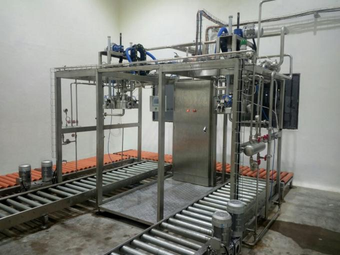 Apple Sauce Aseptic Bag Filler Machine For Apple Juice , Large Capacity