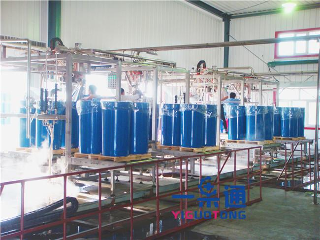 Mango Pulp Pineapple Juice Aseptic Filling Equipment Of 200L Bag In Drum