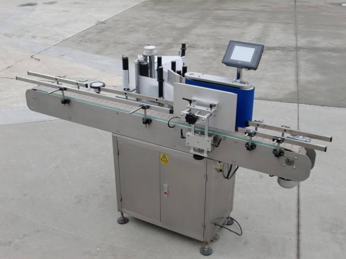 CE Glass Bottle Labeling Machine For Ingredient Package Like Sauce , Mayonnaise