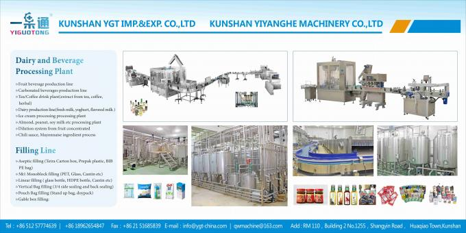 Beverage Process Plant Turnkey Project For Juice Drink