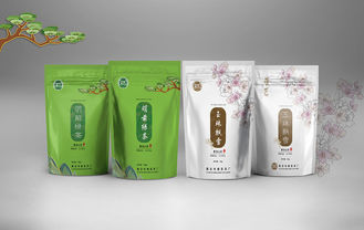 China Waterproof Scented Kraft Paper Stand Up Pouch / Stand Up  Bags /Beverage Packing supplier