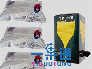 China Aseptic BIB Empty Wine Box Bags In Fluids Packing Bag In Box 1 Liter 20L50L 220L supplier