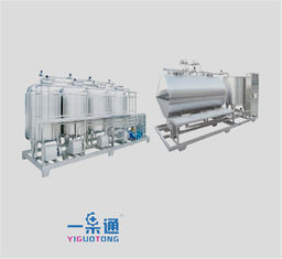 China Verticla And Horizontal Manual Cip System In Food Industry Whole Set Type supplier