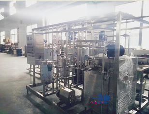 China PLC Control Mango Juice Pasteurizer Machine,Tubular Milk Pasteurisation Machine supplier