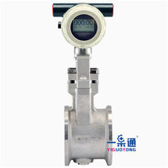 China High Strength Equipment Spare Parts Wafer Vortex Flow Meter Anti - Shock supplier