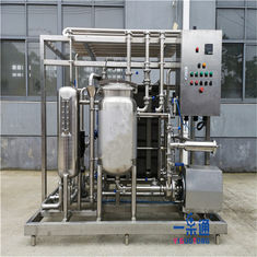 YGT Juice Pasteurization Equipment / Tea Drinks Milk Sterilizer Machine
