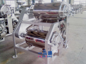 China Tomato Sauce Strawberry Jam Industrial Juicer Machine / Apple Pulper Machine supplier