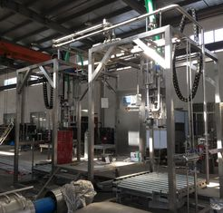juice aseptic filling machine,200-1400l aseptic bag filler,sauce filling machine,tomato processing