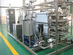 China Fruit Juice And Milk Sterilizer Machine For Food Prodution Line 50L / 100L / 220L supplier