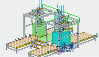 China YGT Passion Fruit Juice Aseptic Bag Filler / Aseptic Liquid Filling Machine supplier