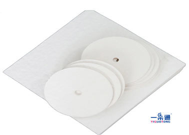 China Cotton Pulp Industrial Filter Paper , Oil Filter Paper Pad In Rectangle Shaped supplier