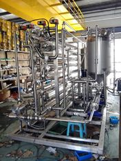 China Citrus Juice Tube UHT Sterilization Machine Full Auto With Large Capacity supplier