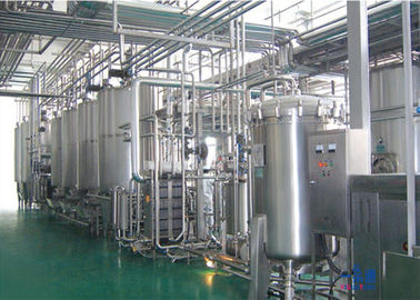 China Complete Automatic Industrial Food Processing Equipment For Milk Dairy / Fresh Milk supplier