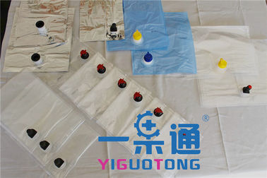 China Milk / Egg Liquid Bag In Box Wine Transparent Type PE Aseptic Bag Eco - Friendly supplier