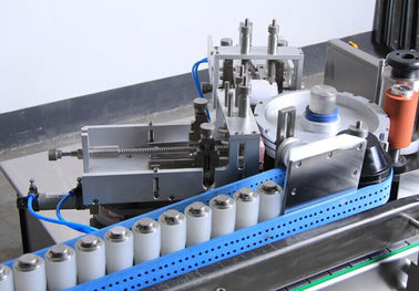 China 220V / 380V Food Processing Equipment , Carton Labeling Machine For Food Industry supplier