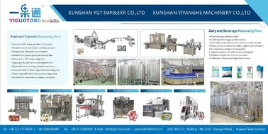 China Beverage Process Plant Turnkey Project For Juice Drink supplier