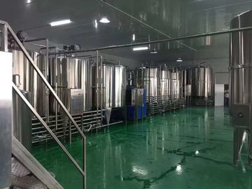 China SS316L Milk Production Line , Dairy Processing Equipment For Fresh Milk Project supplier