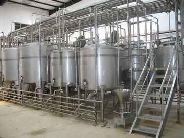 China Fresh Cow Milk Turnkey Project Solutions Milk Powder Project Milk Mixing Tank supplier