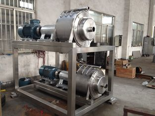 China Puree Pulper Refienr Industrial Juice Extractor Machines Fruit Seed Sepration supplier