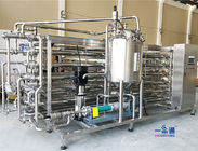 China Fruit Juice / Beer / Beverage Drinks Tubular Sterilization / Uht Pasteurization Equipment factory