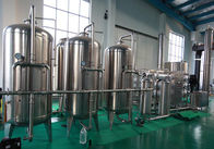 China Long Warranty Liquid Filling Machine RO Water Treatment 1000-8000l / H Capacity factory