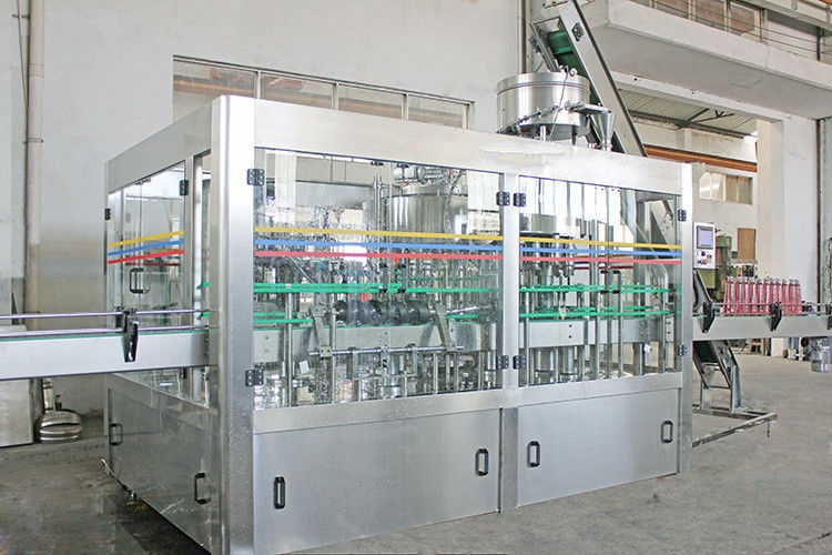 Automatic Fruit Juice BIB Filling Machine Stainless Steel For Flowing Liquid