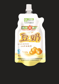 China Clear Poly Aluminium Foil Stand Up Pouch Bags For Food , Liquid Pouch With Spout factory