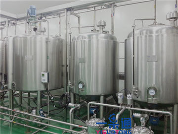 China Juice Drink Automatic Cip System / Cip Equipment To Wash Pipe , Tank factory