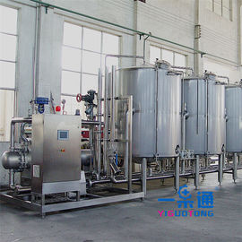 China Stainless Steel Cleaning In Place In Food Industry CE Certification , Water Cleaning Equipment factory