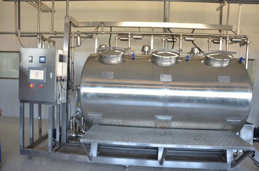 Compact CIP Washing System Machine For Drink Milk Plant Cleaning