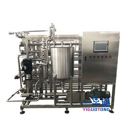 Liquid Food Pasteurizer Machine , Automatic Milk Pasteurization Machine