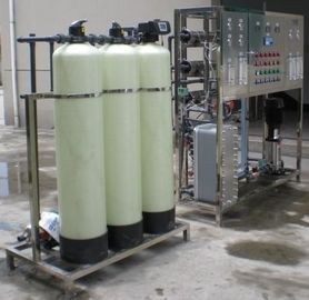 China Ultrafiltration UF Plant For Industrial Water Treatment , Spring Water Bottling Plant factory