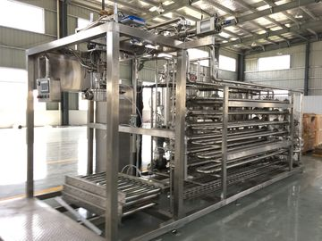 China Low Noise Mango Pulp Aseptic Juice Filling Machine 20L / 220L With PLC Control factory
