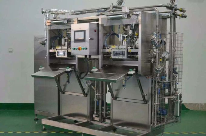Jam Filling Machine Single - Head For Juice Beverages And Drinks Liquid Filling Equipment