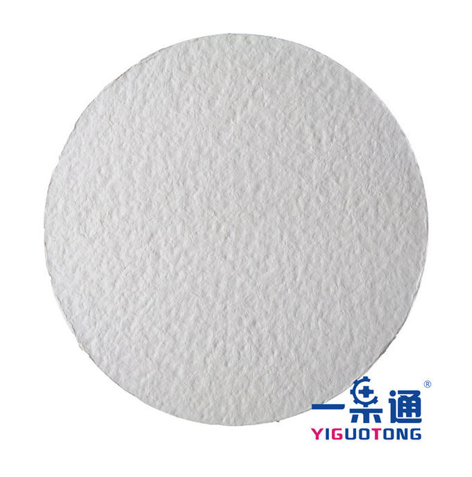 Petroleum Chemical Filter Paper , Pharmaceutical And Oil Clarify Micro Filter Paper